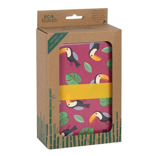 Toucan & Gordon Giraffe - Bamboo Lunch Box