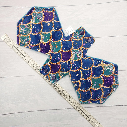 Cloth Sanitary Pad - MERMAID SCALES - Sparkly & Co.