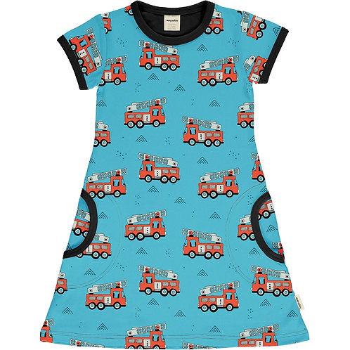 Dress SS - FIRE TRUCKS - Meyadey