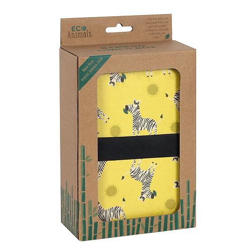 Ziggy Zebra - Bamboo Lunch Box