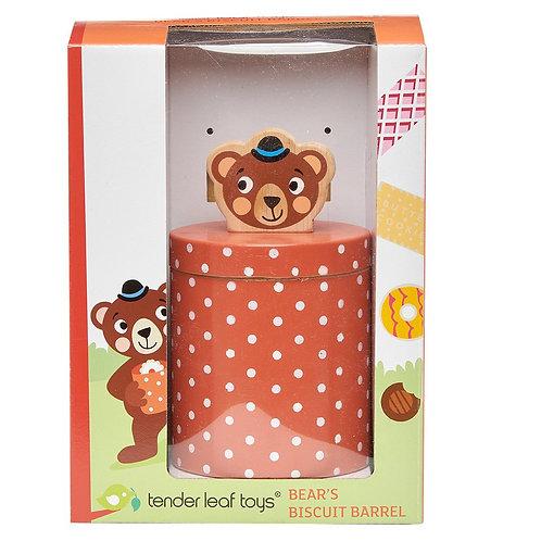 Bear's Biscuit Barrel - Tender Leaf Toys