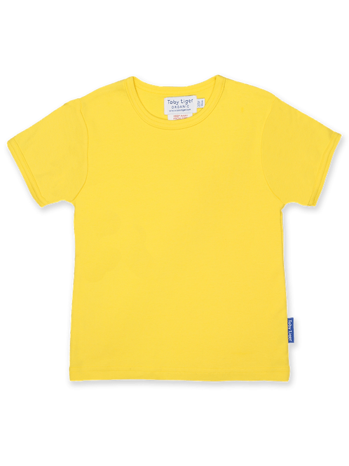 Yellow Basic T-shirt - Toby Tiger