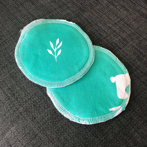 Reusable Breast Pads - Scrapqua - Love Leo