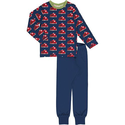 Pyjama Set LS - FIRE TRUCK - Maxomorra