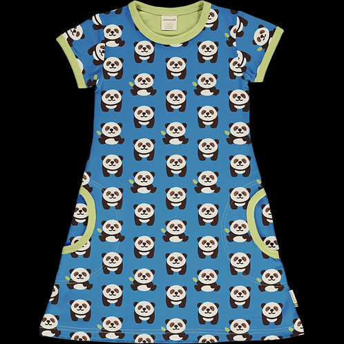 Dress SS - PLAYFUL PANDA - Maxomorra