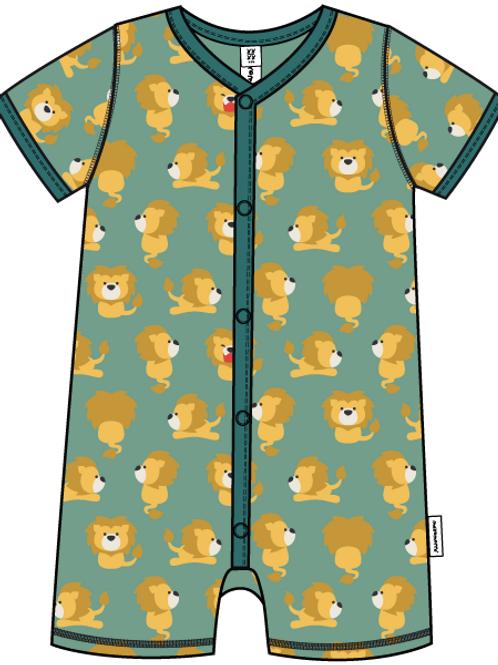Rompersuit Button SS -LION