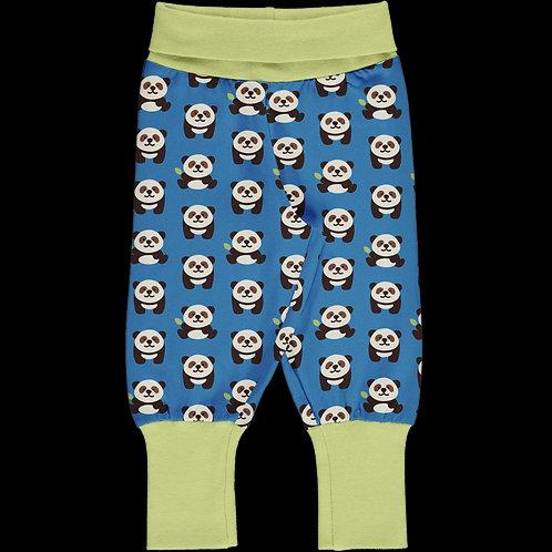 Rib Pants - PLAYFUL PANDA - Maxomorra