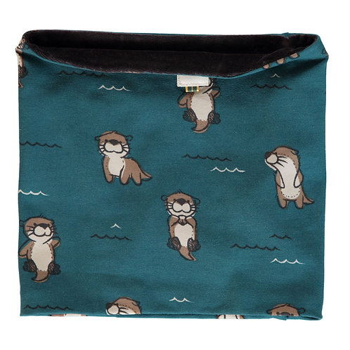 Tube Scarf Velour - CURIOUS OTTER