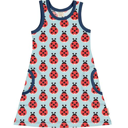 Dress NS - LAZY LADYBUG - Maxomorra