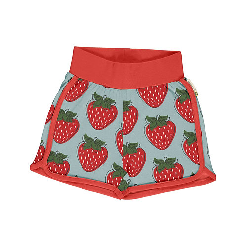 Runner Shorts - STRAWBERRY - Maxomorra