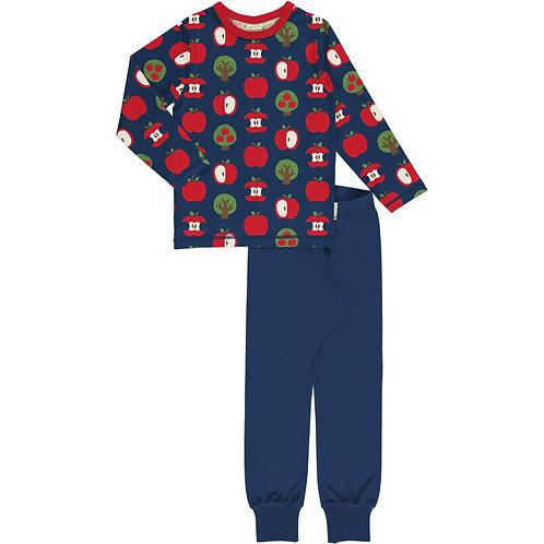 Pyjama Set LS - APPLE - Maxomorra