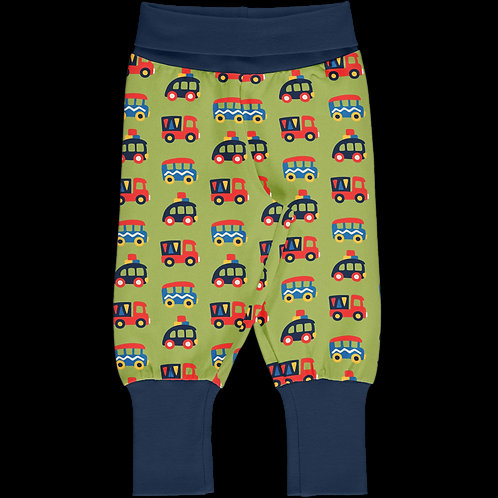 Rib Pants - COLOURFUL CARS - Maxomorra