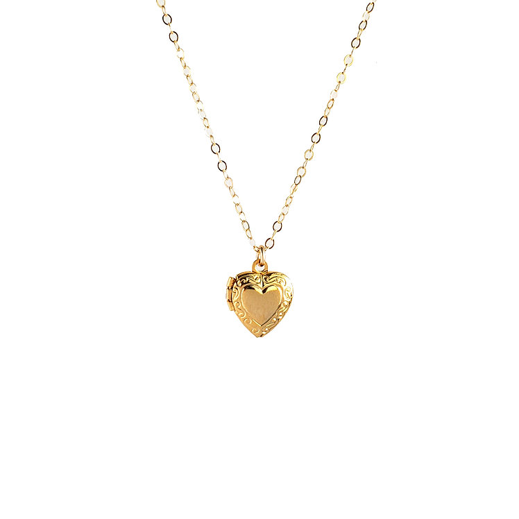 Love Me Forever Locket Necklace