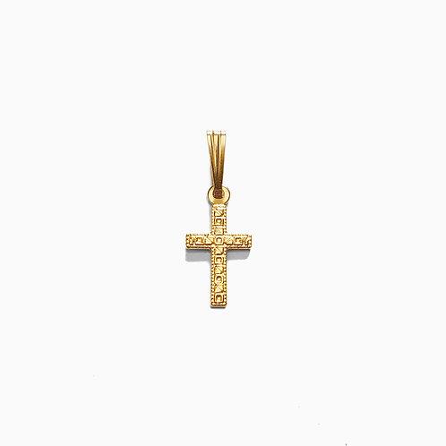 Small Cross Charm | GF & SS