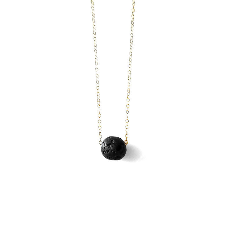 Floating Lava Diffuser Necklace