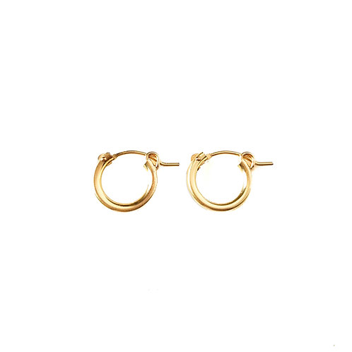 14k Gold Filled/Sterling Silver Hoops