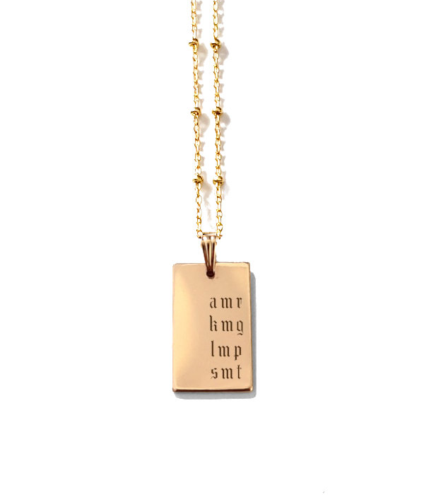 Story Book Necklace / Malia Chain