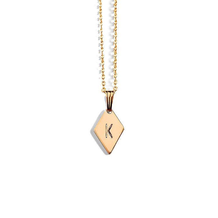 Diamond Story Book Necklace
