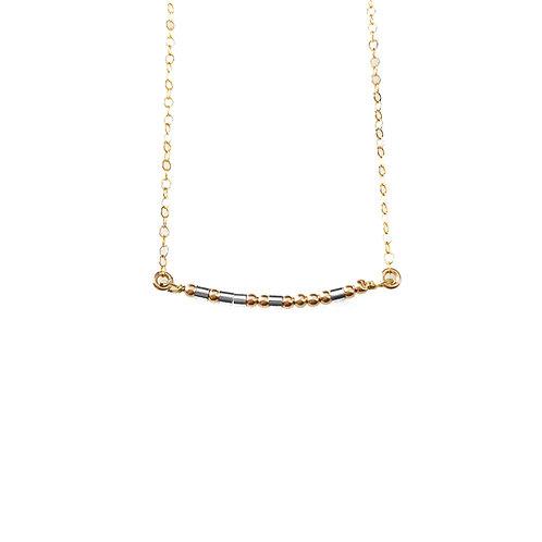 Morse Code Bar Necklace