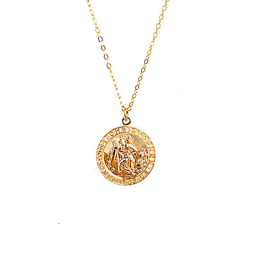 Aulani Travelers Coin Necklace