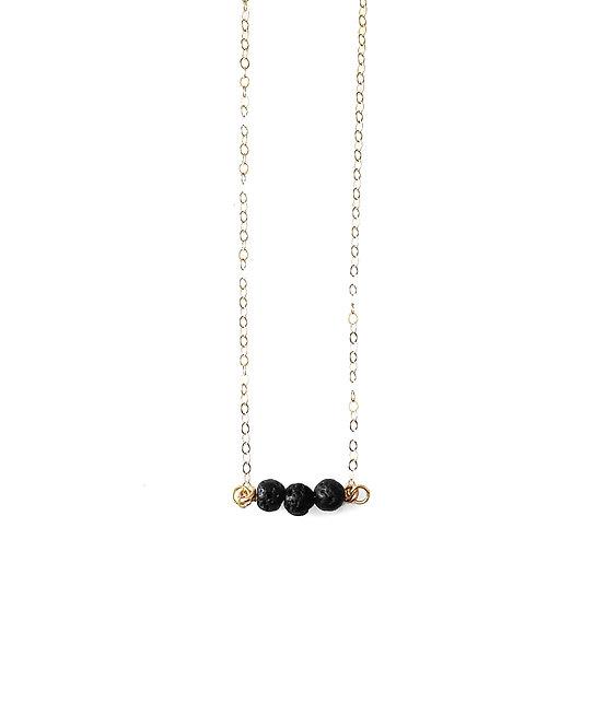Trio Lava Diffuser Necklace