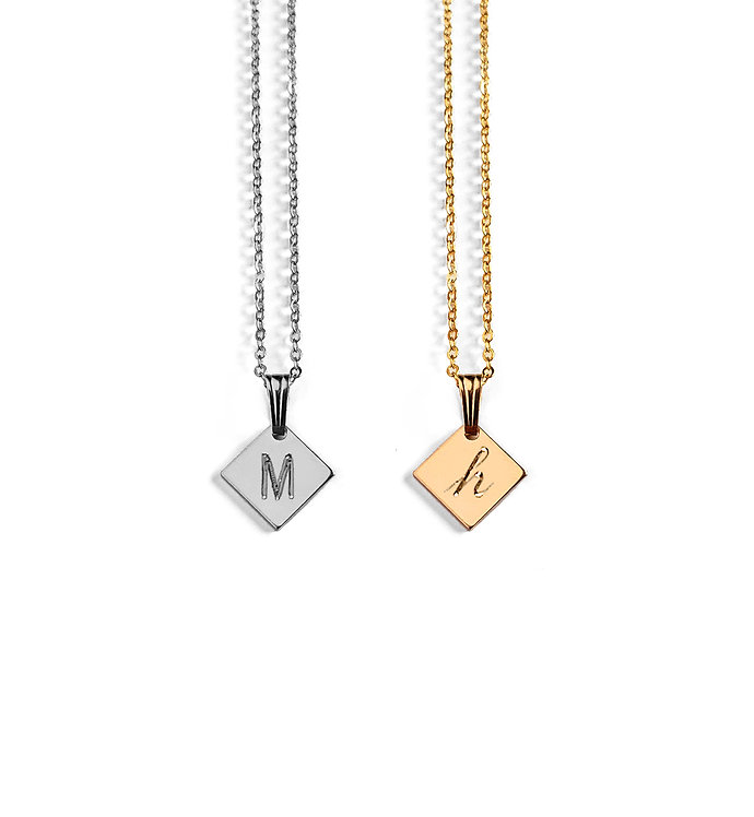Mini Diamond Story Book Necklace