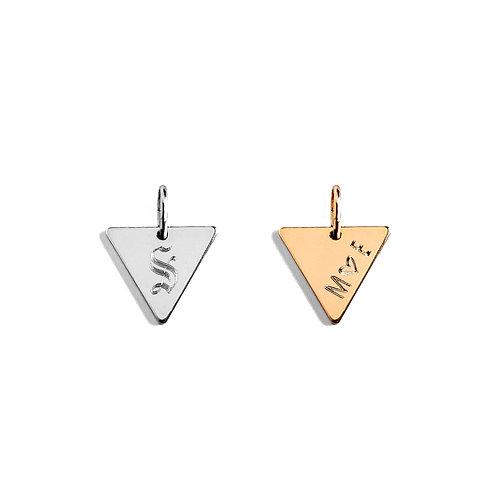 TRINITY Triangle Storybook Pendant
