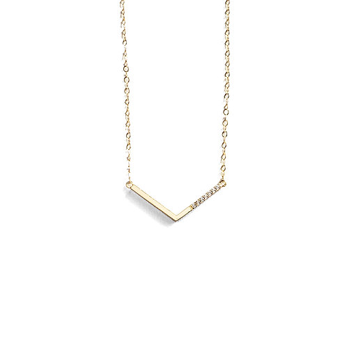 """V"" Necklace"