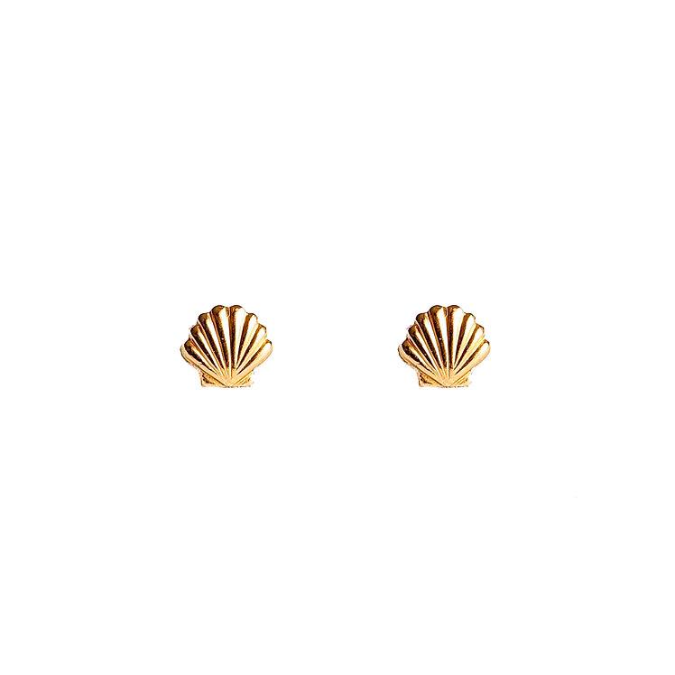 Tiny Seashell Studs