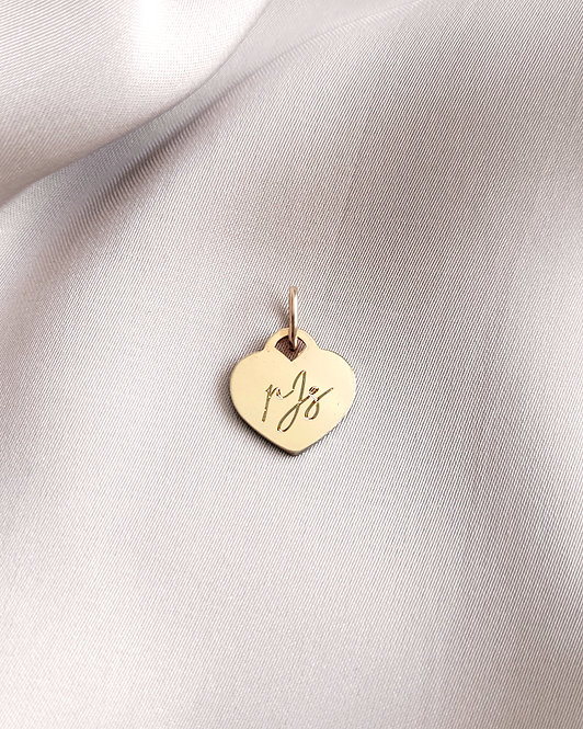 AMOUR Heart Storybook Pendant