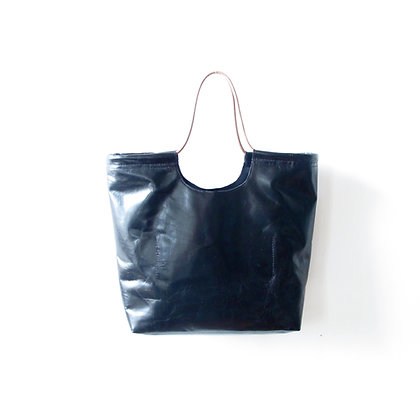 Gwen tote black leather