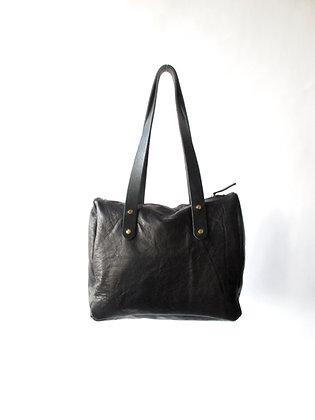Bogart bag black leather