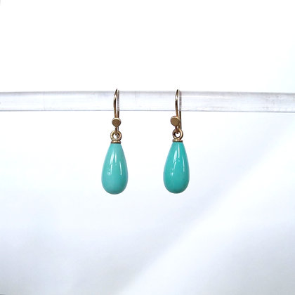 Small turquoise drops