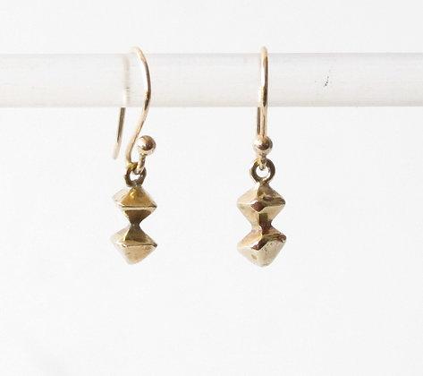 Mini column earring