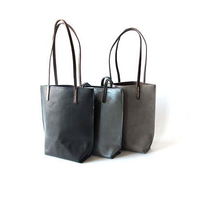 Large Tote every day bag hand made in leather