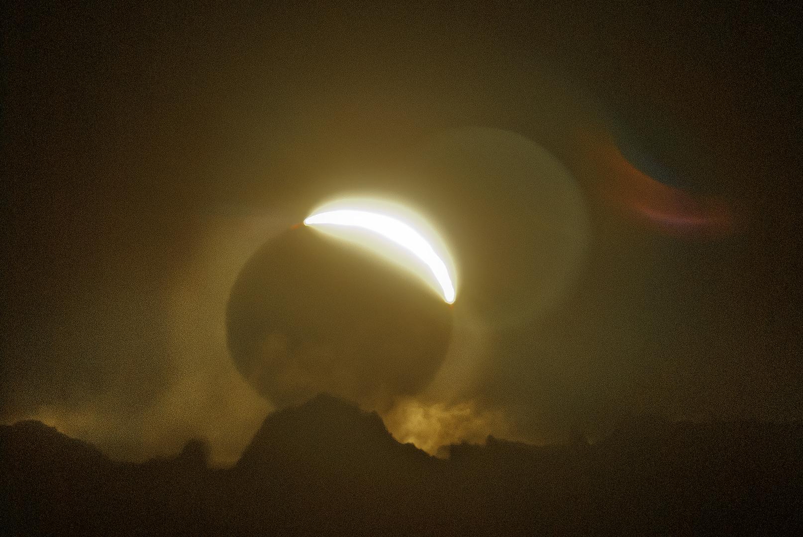 O por do Sol negro