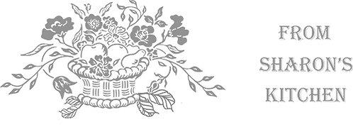 Customizable Cake Pan Design - Basket with Flowers