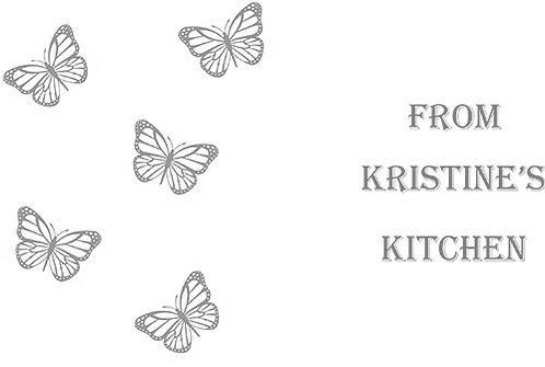 Customizable Cake Pan Design - Butterflies Scene