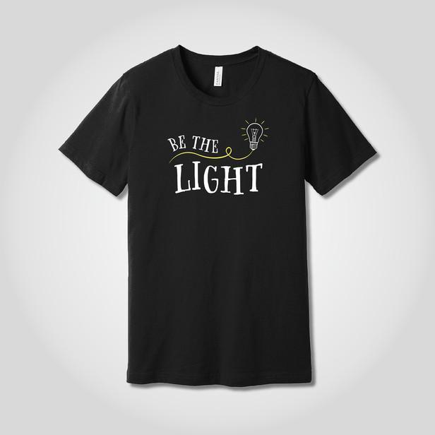 Be The Light t-shirts