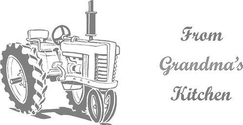 Customizable Cake Pan Design - Tractor
