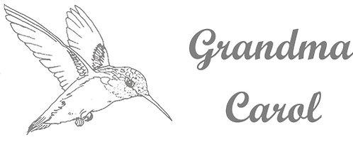 Customizable Cup Design - Hummingbird