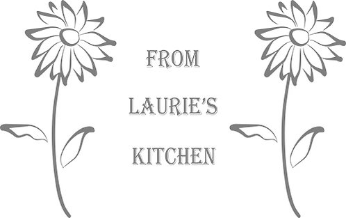 Customizable Cake Pan Design - Two Flowers