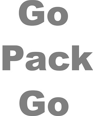 Customizable Cup Design - Go Pack Go