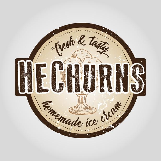 HeChurns logo
