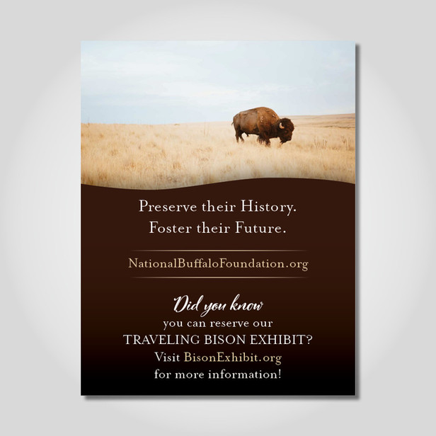 National Buffalo Foundation ad