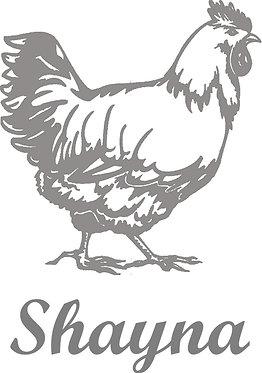 Customizable Cup Design - Chicken