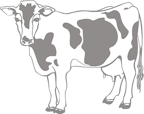 Customizable Cup Design - Dairy Cow