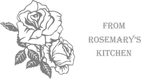 Customizable Cake Pan Design - Roses