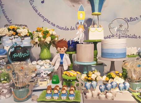 Festa Tema Balão Azul