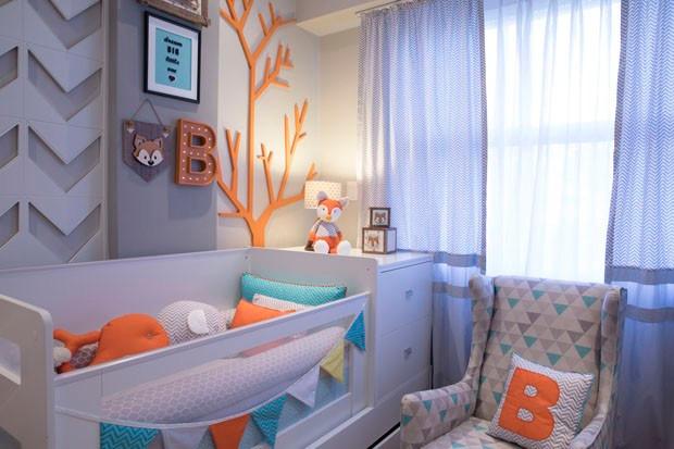 quarto de bebê raposa filho Sheron Menezzes
